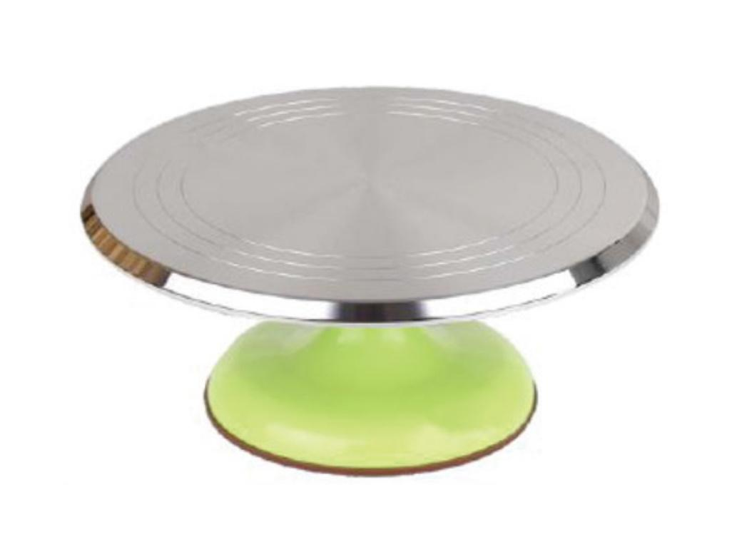 Metal Turntable - Lime Base