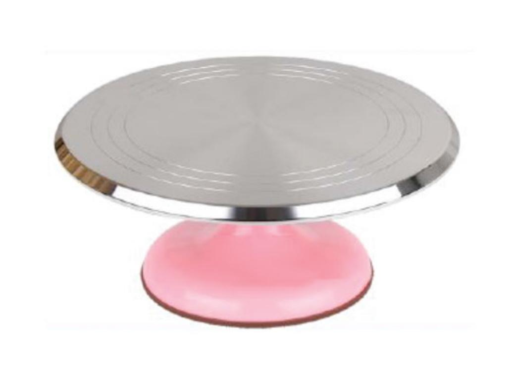Metal Turntable - Pink Base