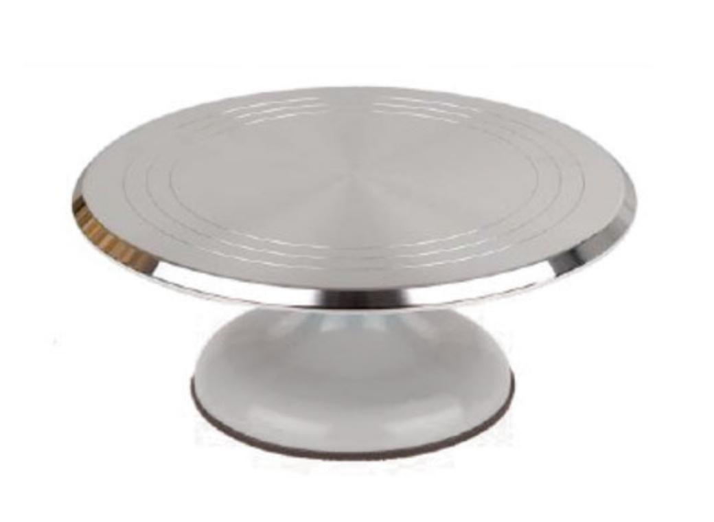 Metal Turntable - Silver Base