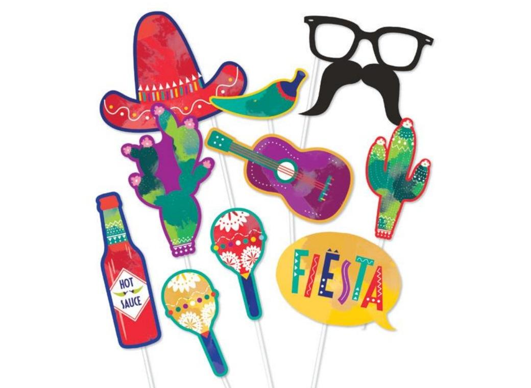 Mexican Fiesta Photo Props