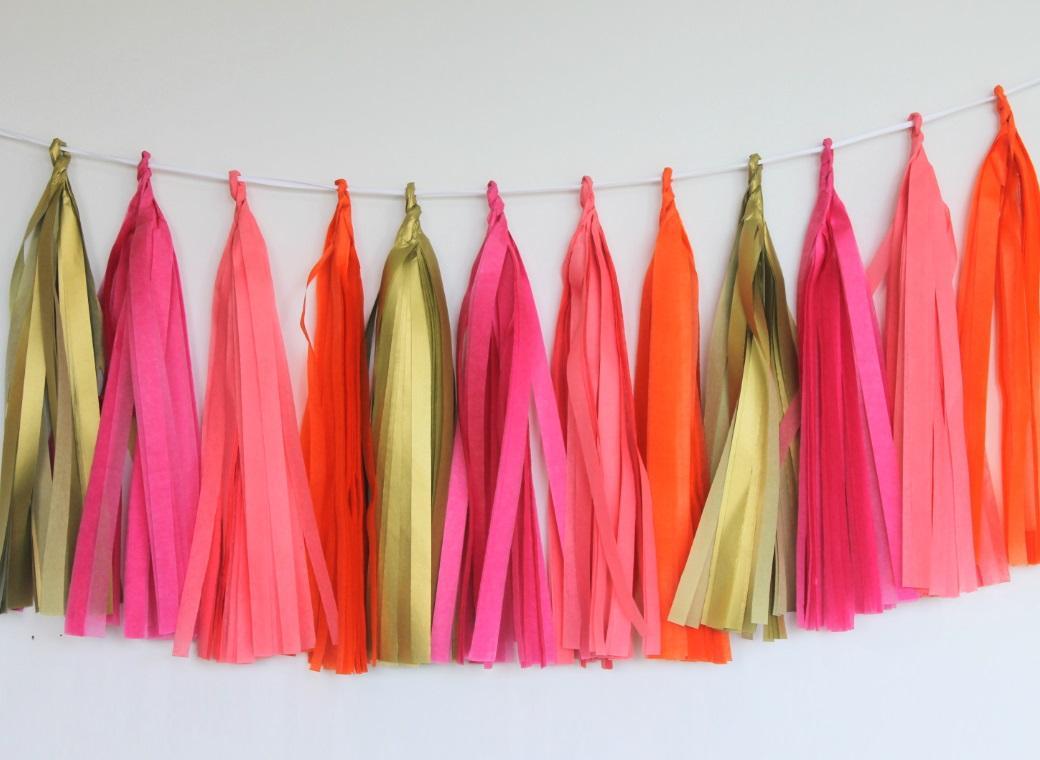 Tissue Tassel Garland - Mexico