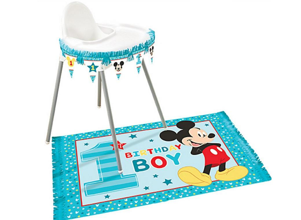 Mickey 1st Birthday High Chair Kit