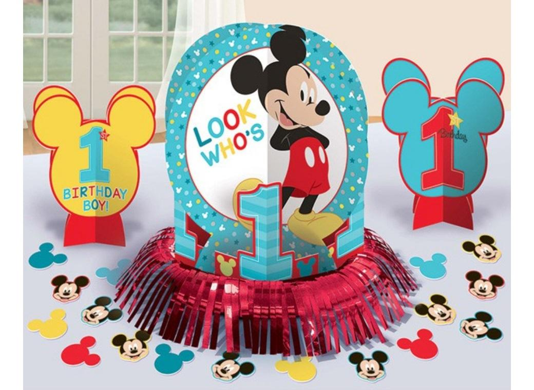 Mickey 1st Birthday Table Decorating Kit