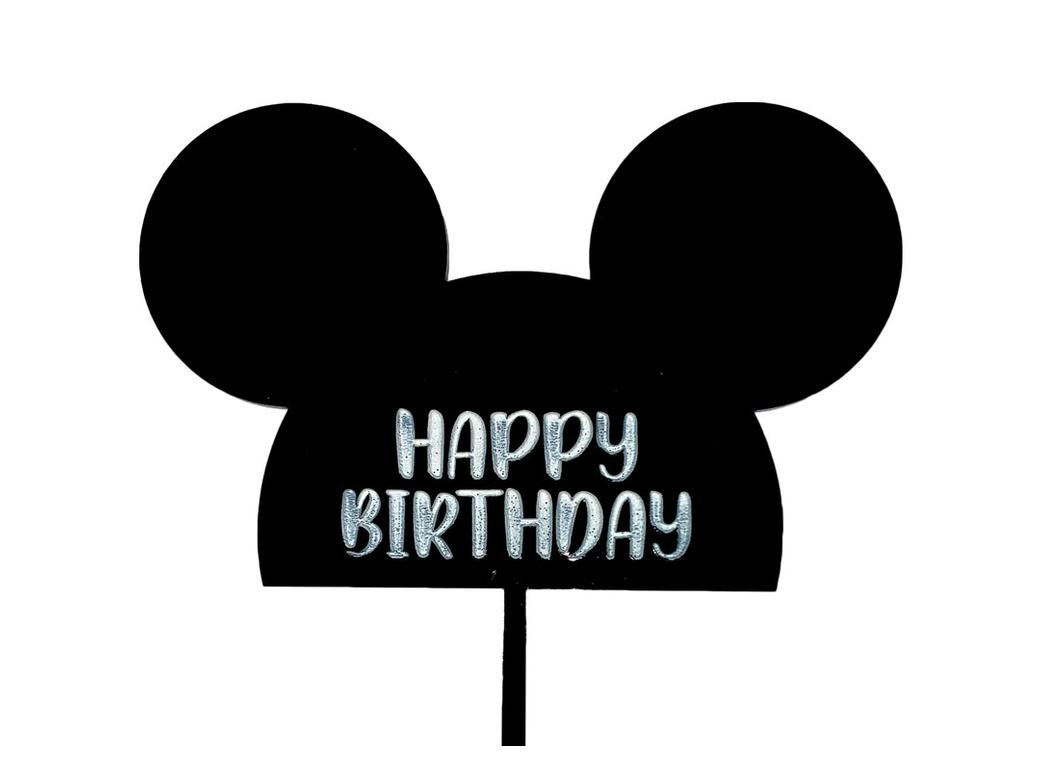 Mickey Mouse HBD Cake Topper