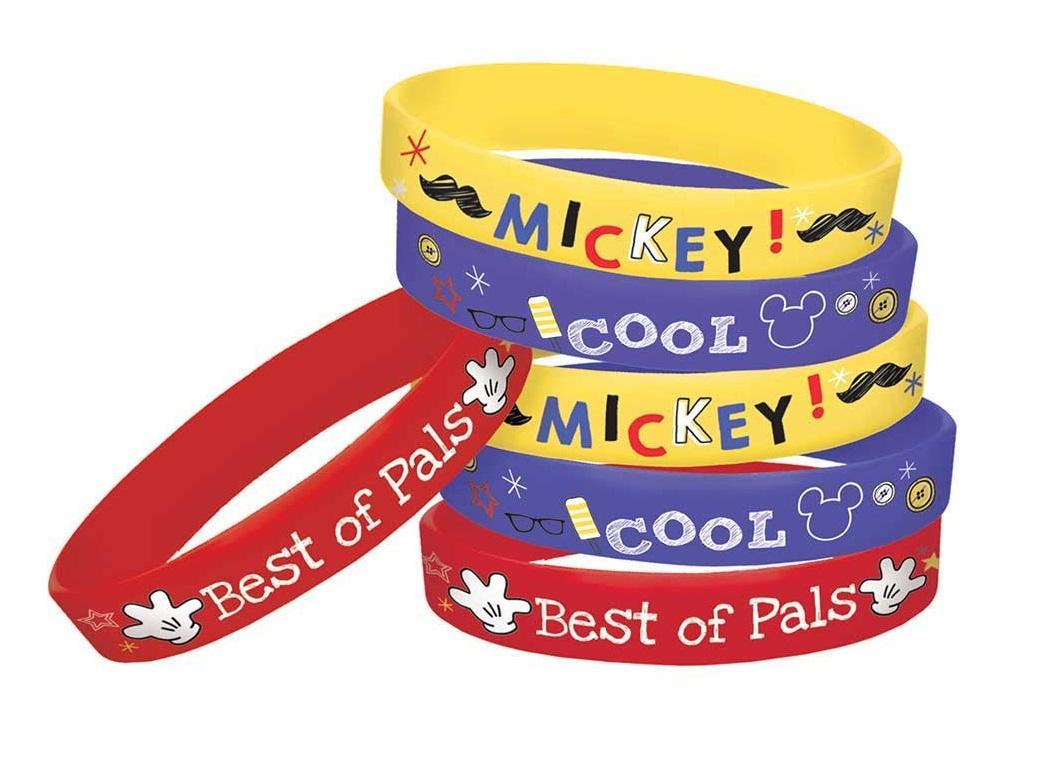 Mickey Mouse Bracelets 6pk