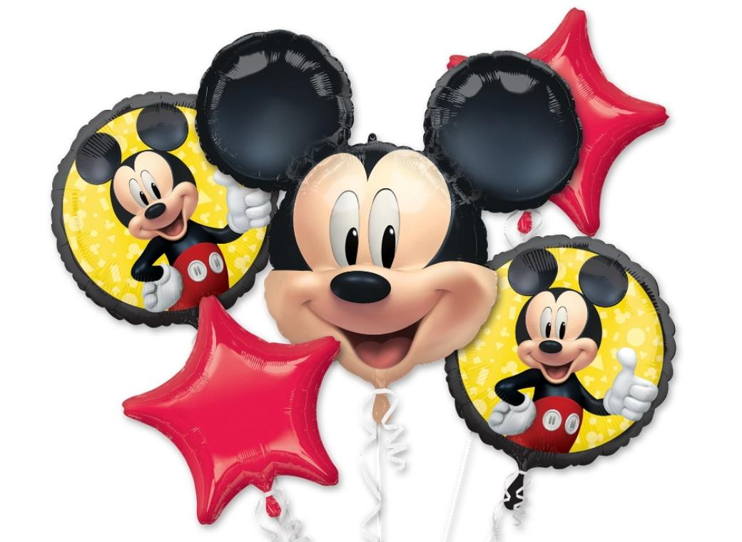 Mickey Mouse Forever Foil Balloon Bouquet