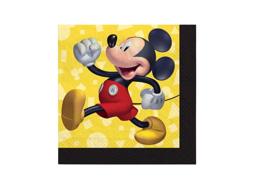 Mickey Mouse Forever Beverage Napkins 16pk