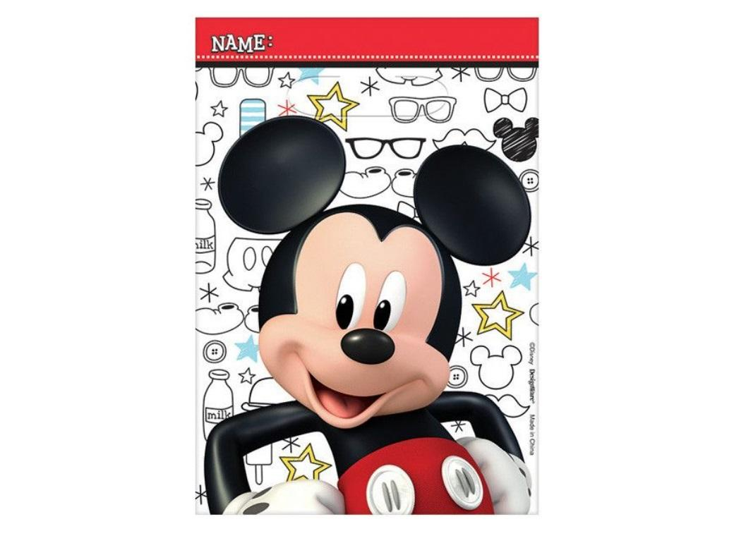 Mickey Mouse Loot Bags 8pk