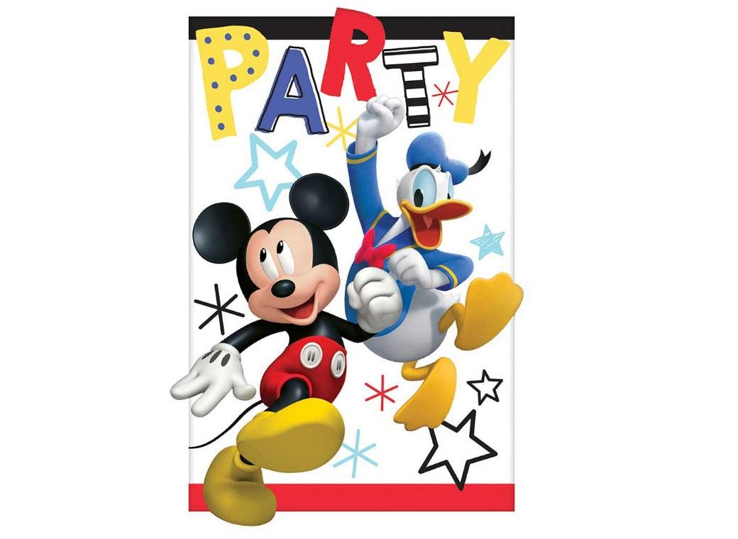 Mickey Mouse Invitations 8pk