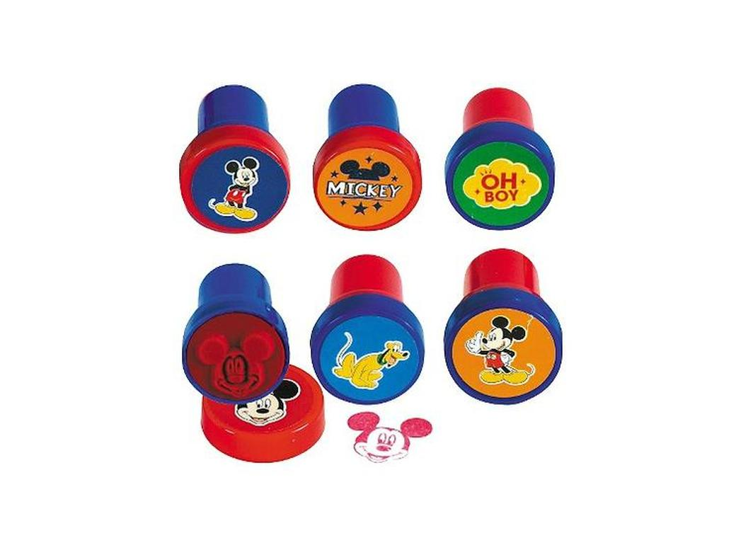 Mickey Mouse Stamper Set - 6pk