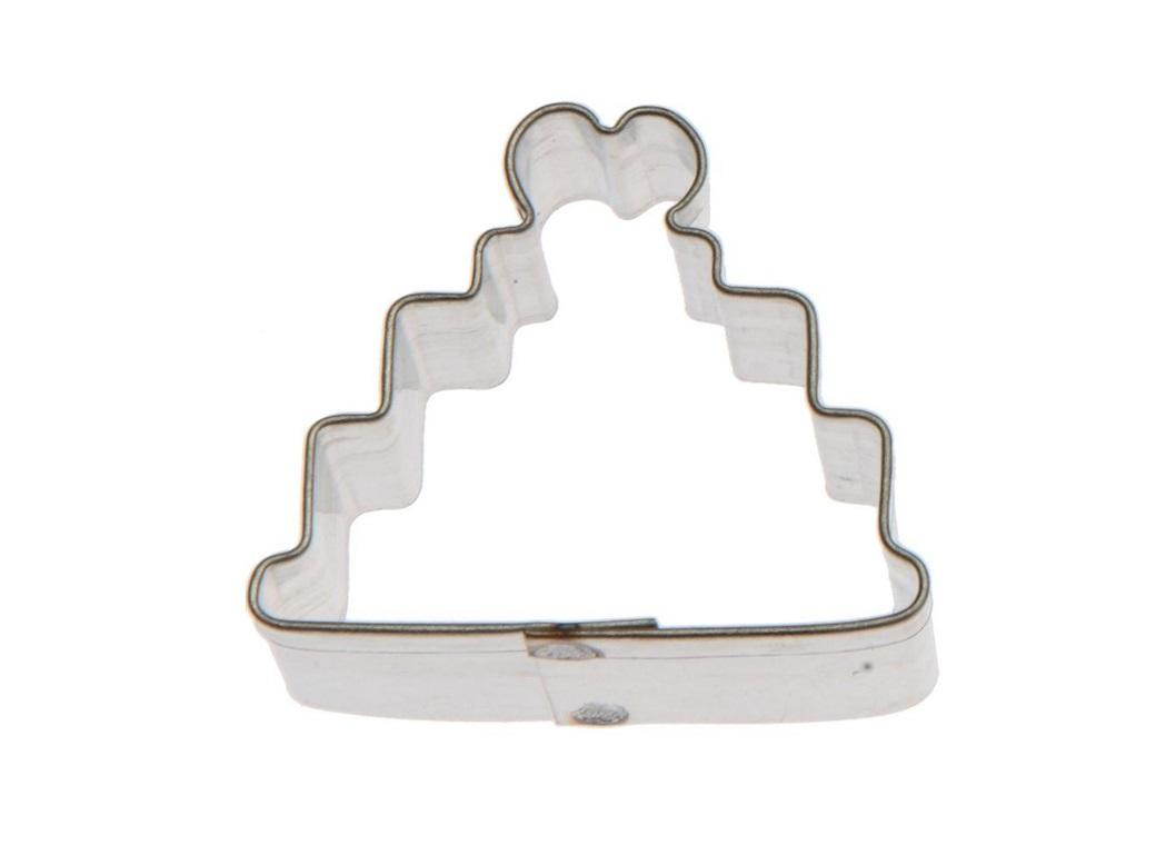 Mini Cookie Cutter - Wedding Cake