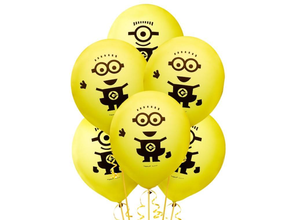 Minions Balloons 6pk