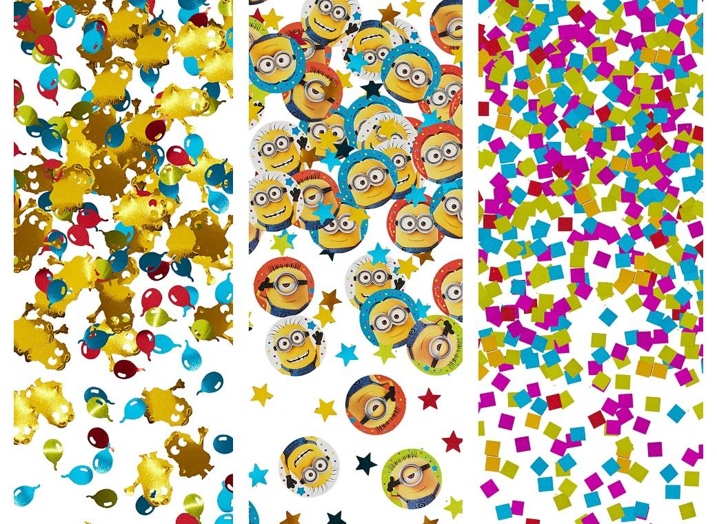 Minions Confetti Value Pack