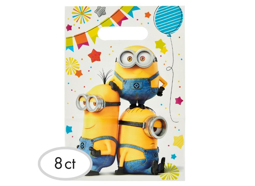 Minions Party Loot Bags 8pk