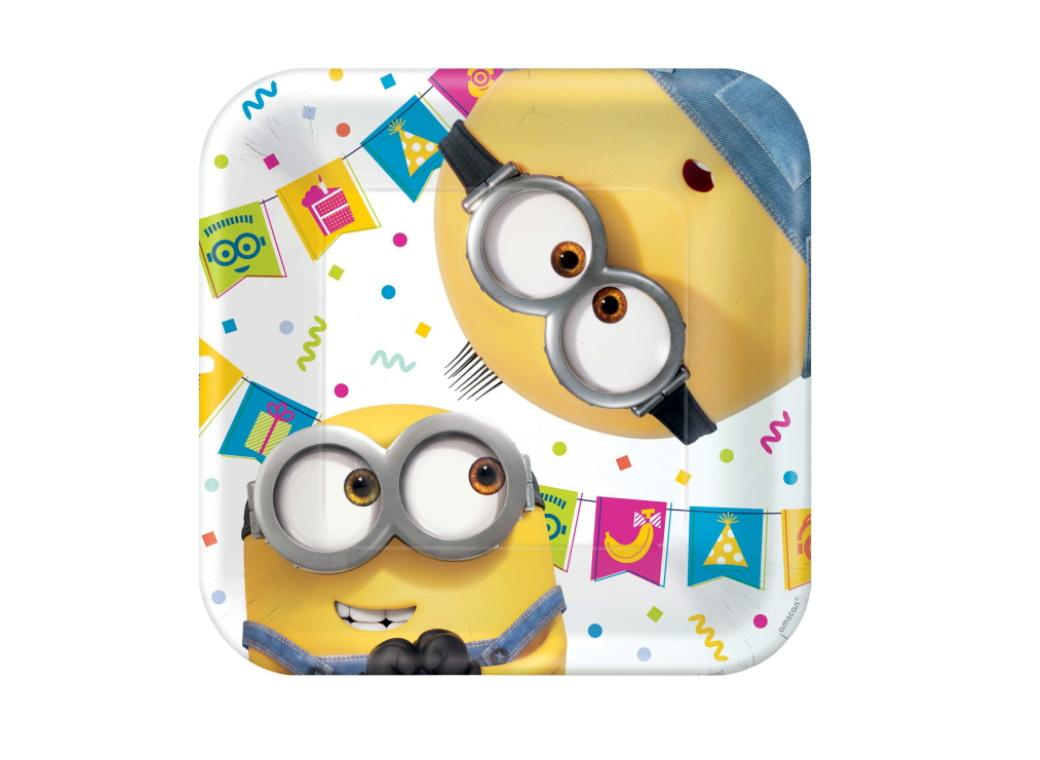 Despicable Me 2 - Lunch Plates