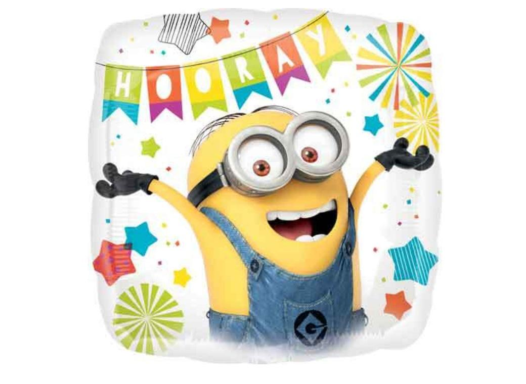 Minions Party Foil Balloon
