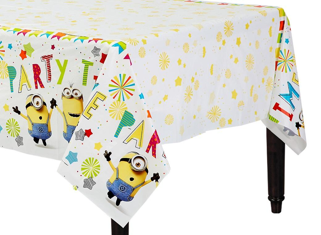 Minions Party Table Cover