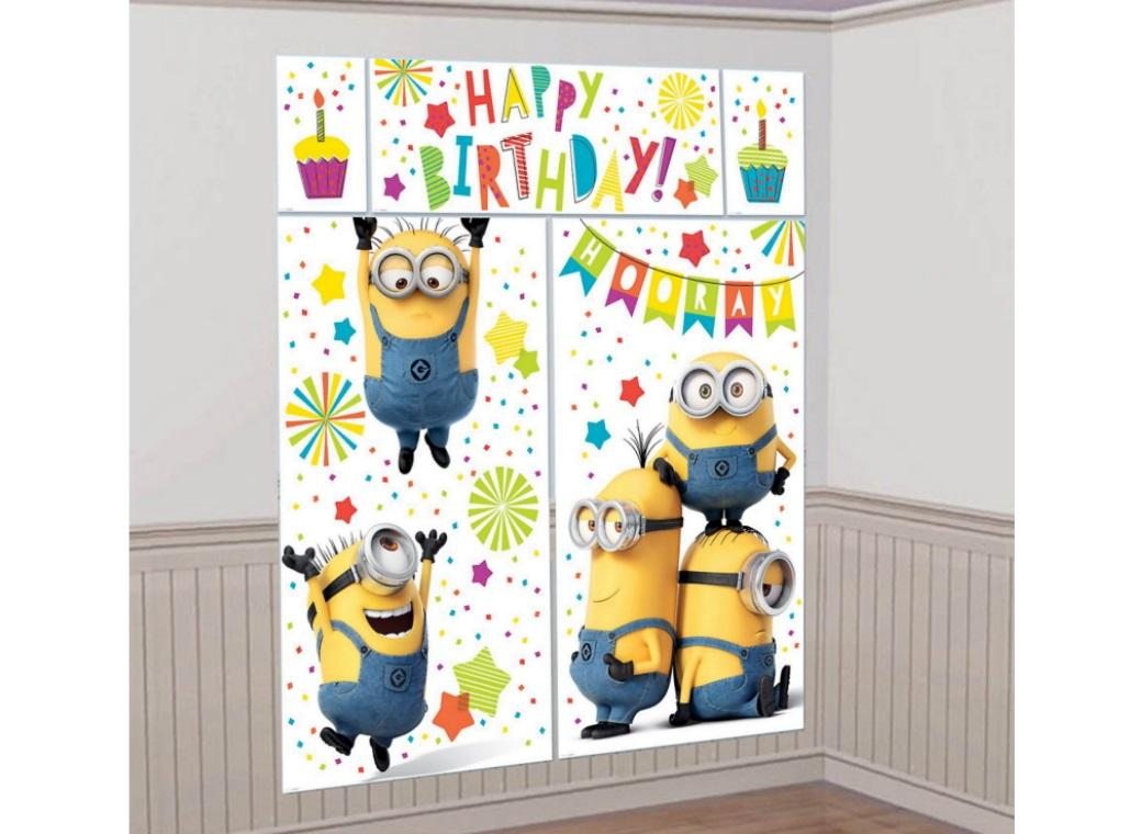 Minions Wall Decorating Kit