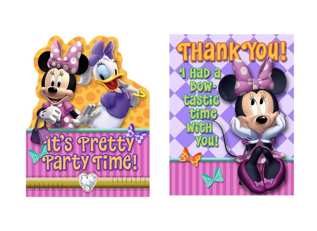 Minnie Dream Invitations & Thank You Cards