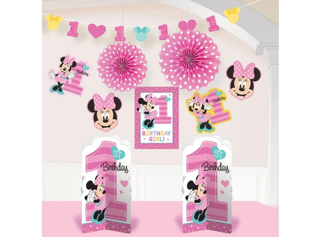 Minnie 1st Birthday Decorating Kit