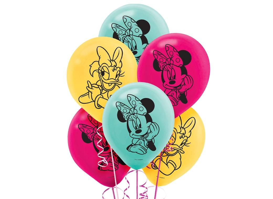 Minnie Mouse Balloons 6pk
