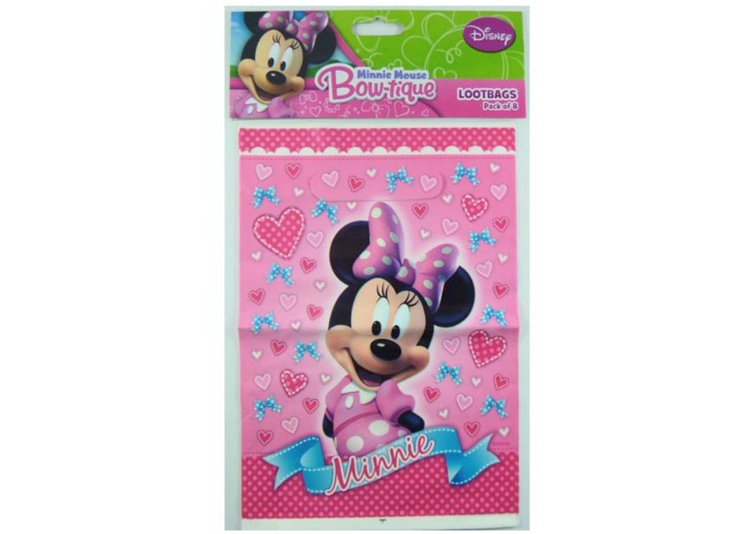 Minnie Mouse Bow-tique Loot Bags 8pk