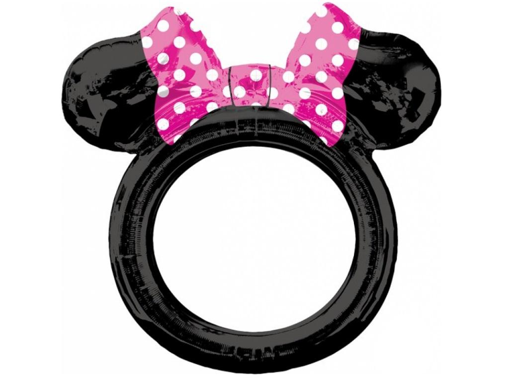Minnie Mouse Ears Frame Balloon