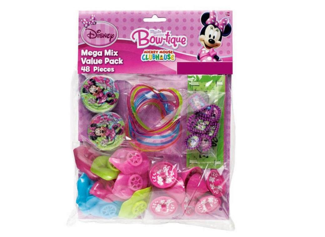 Minnie Mouse Favour Pack - 48pce