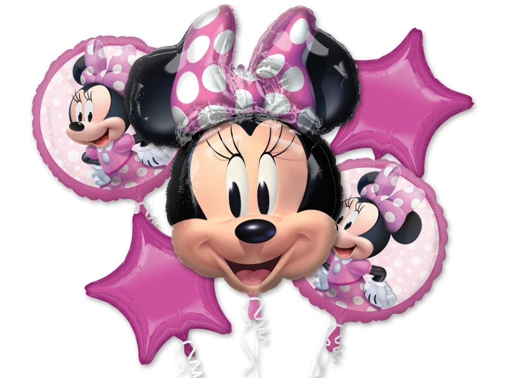 Minnie Mouse Forever Foil Balloon Bouquet