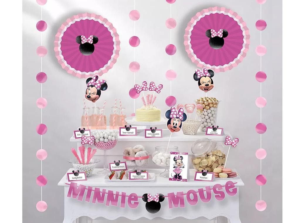 Minnie Mouse Forever Buffet Table Decorating Kit