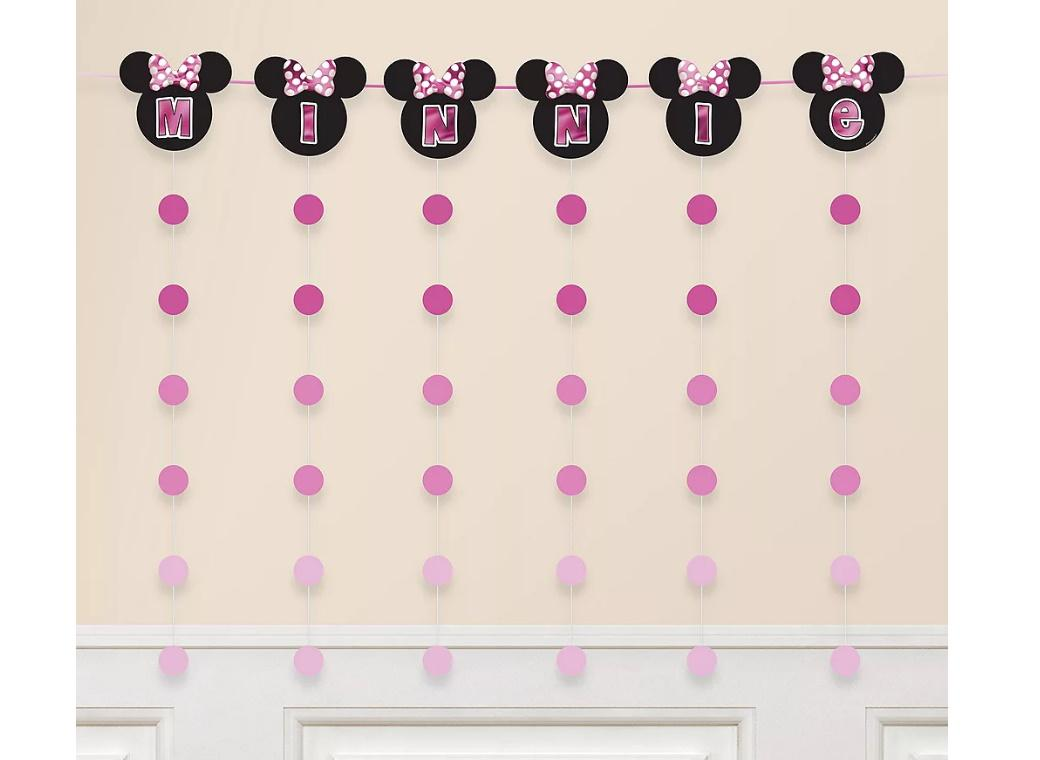 Minnie Mouse Forever String Garland Kit