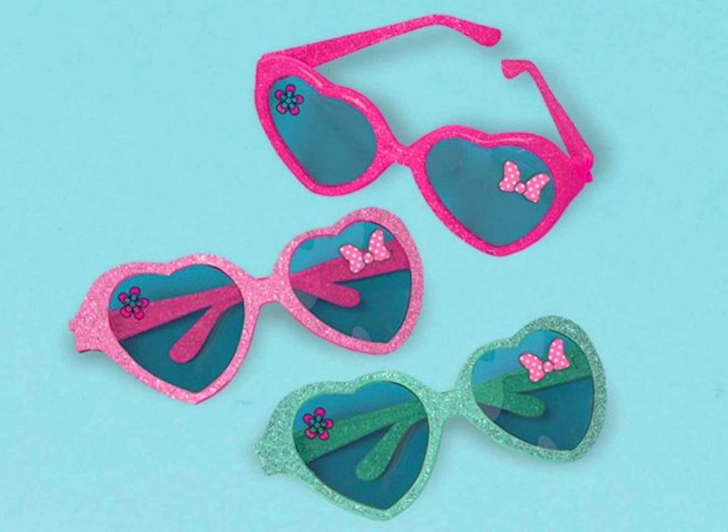 Minnie Mouse Glasses 6pk