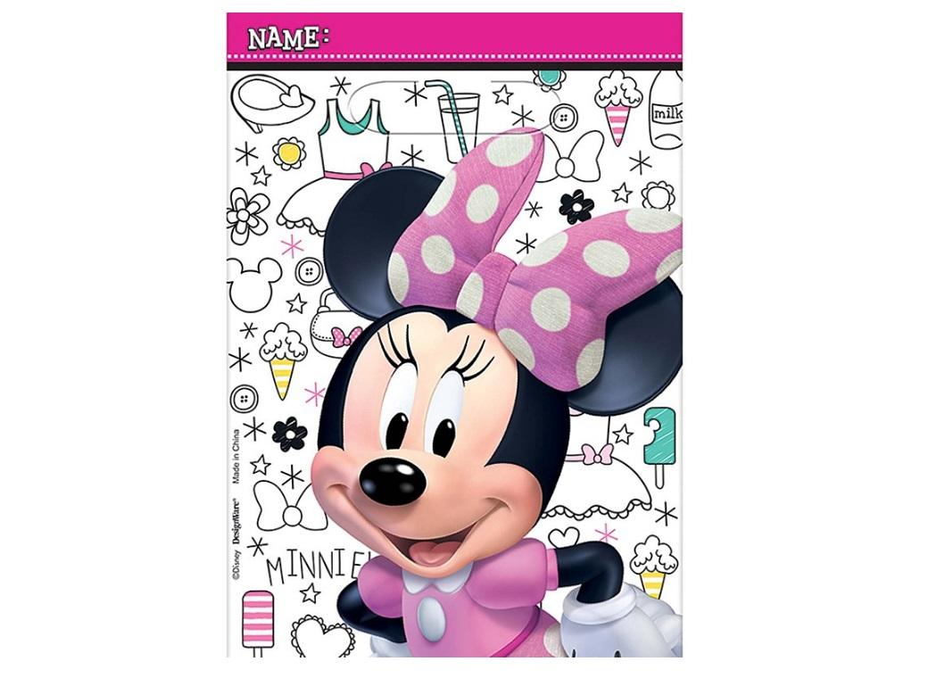 Minnie Mouse Loot Bags 8pk
