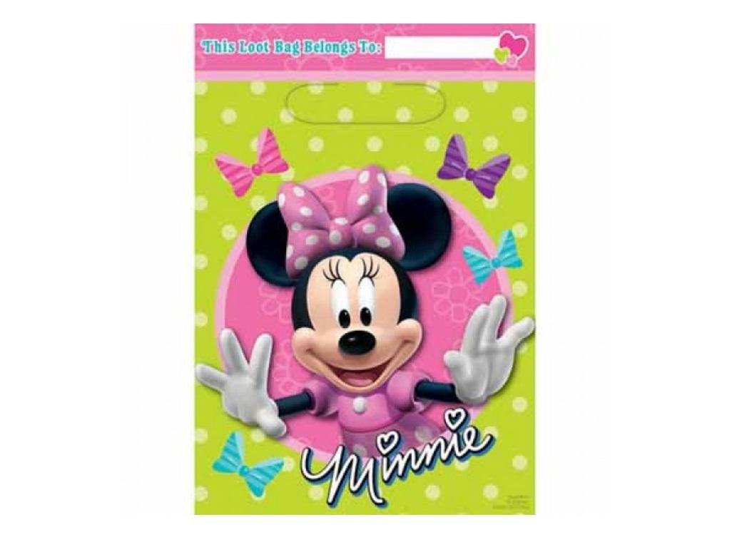 Minnie Mouse - Loot Bags 8pk