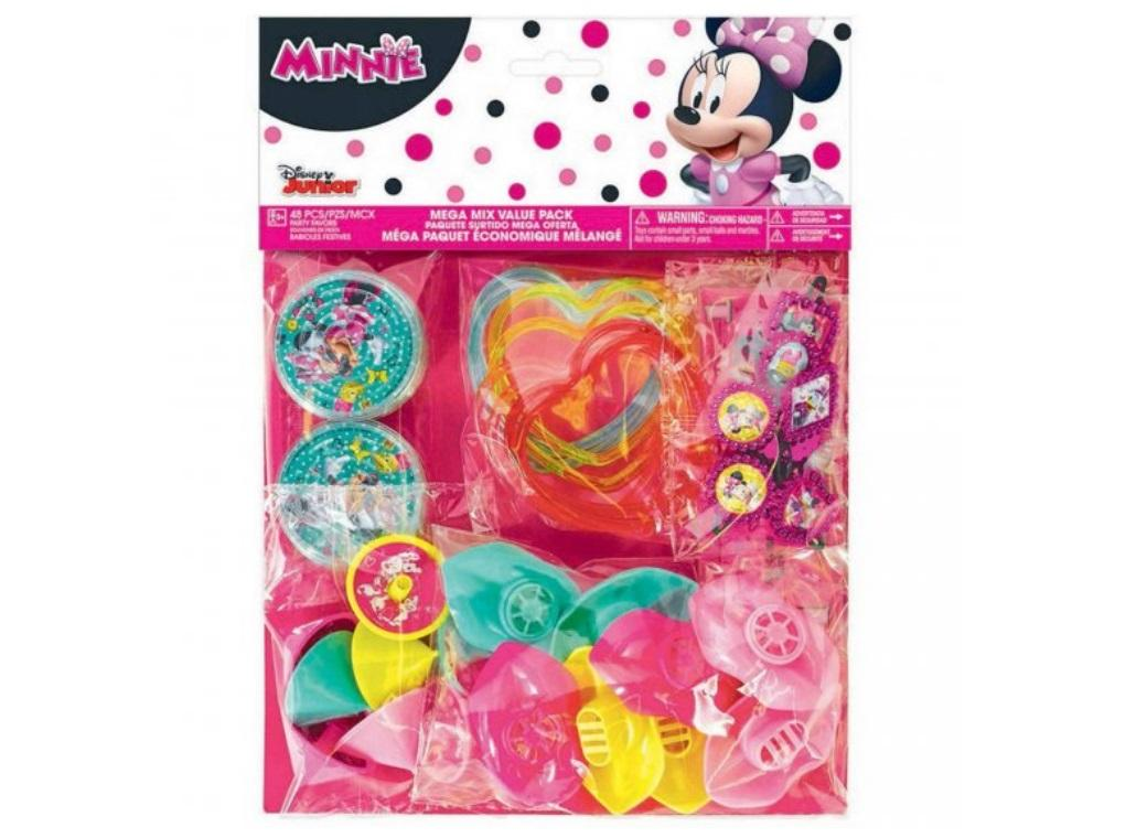 Minnie Mouse Mega 48pce Favour Pack