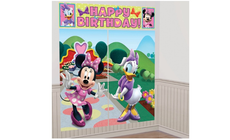 Minnie Mouse Wall Decorating Kit