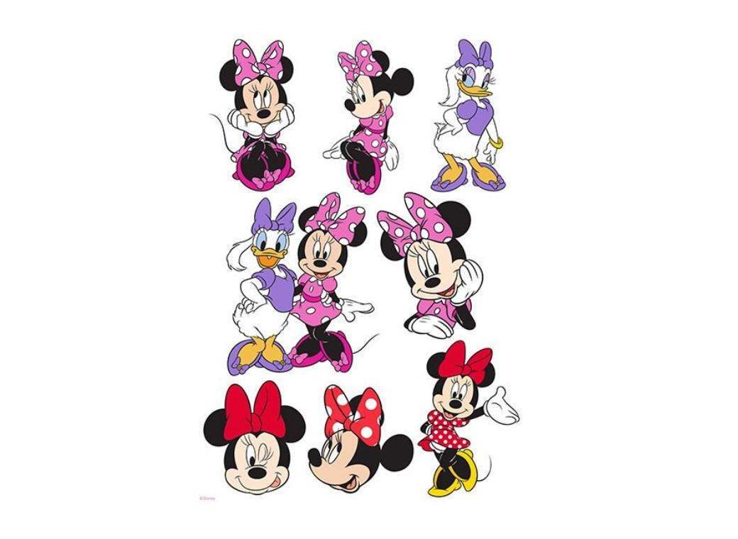 Edible Icing Image - Minnie Mouse Character Sheet