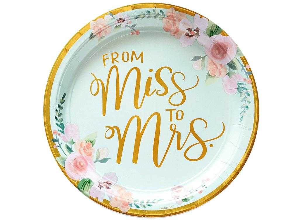 Mint To Be Dinner Plates 8pk