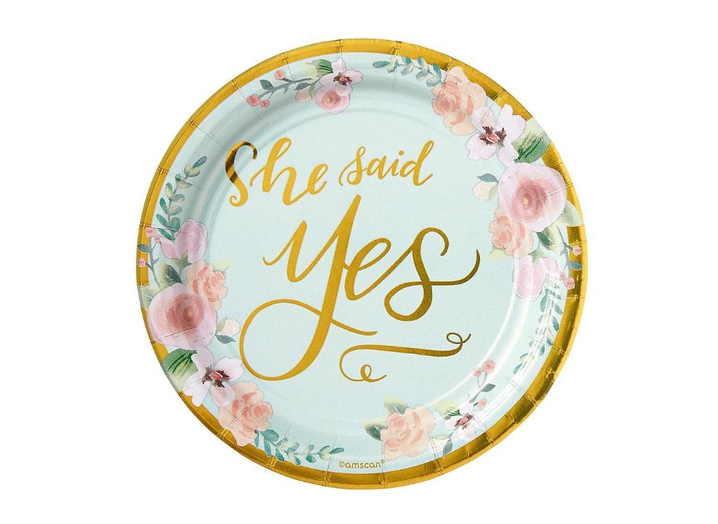 Mint To Be Lunch Plates 8pk