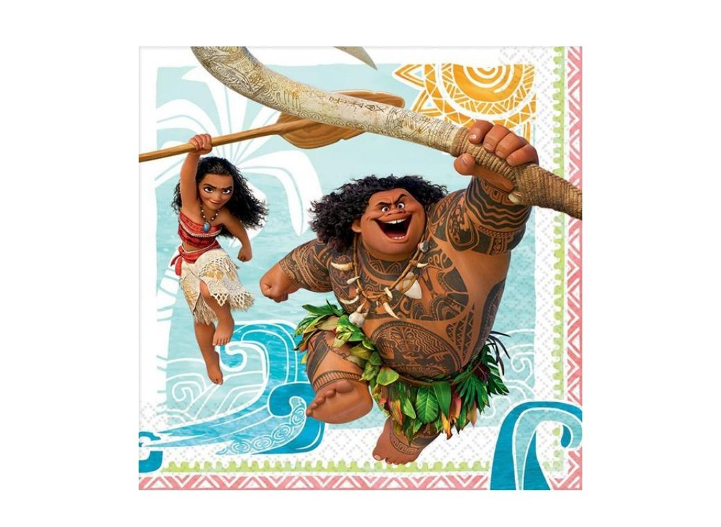 Moana Lunch Napkins - 16pk