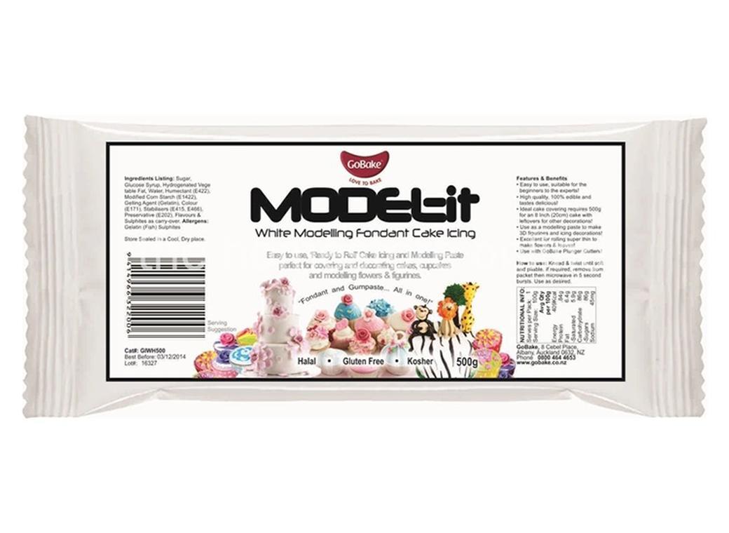 GoBake Model-It White Modelling Icing