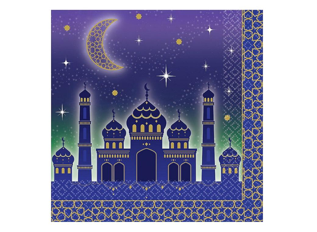 Moon & Stars Lunch Napkins 16pk