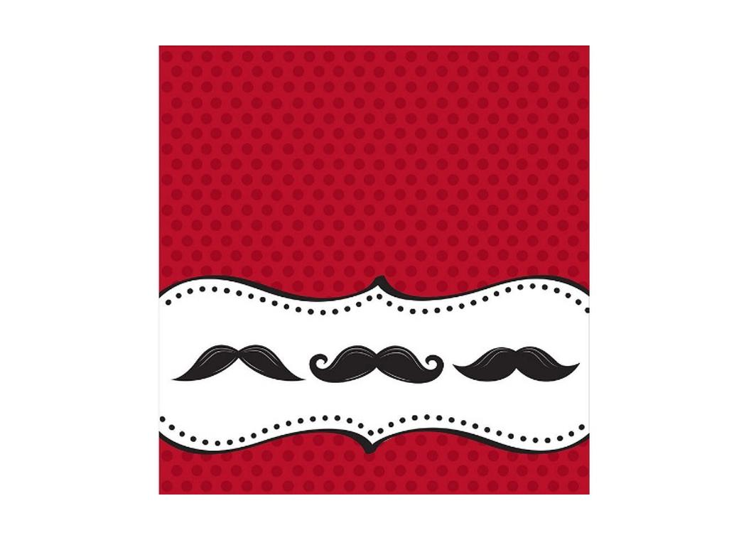 Moustache Madness - Tablecover