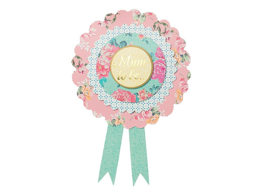 "Truly Baby ""Mum to Be"" Rosette"