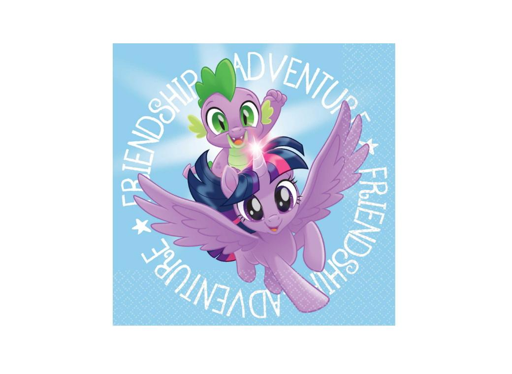 My Little Pony Beverage Napkins 16pk