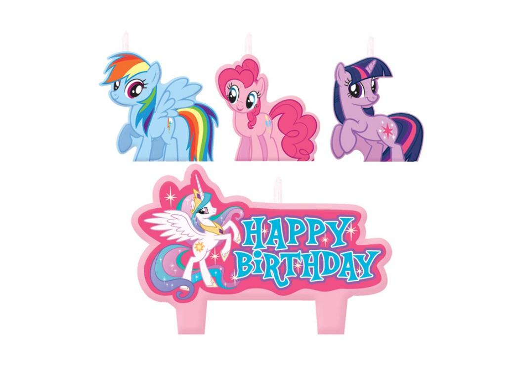 My Little Pony Birthday Candles