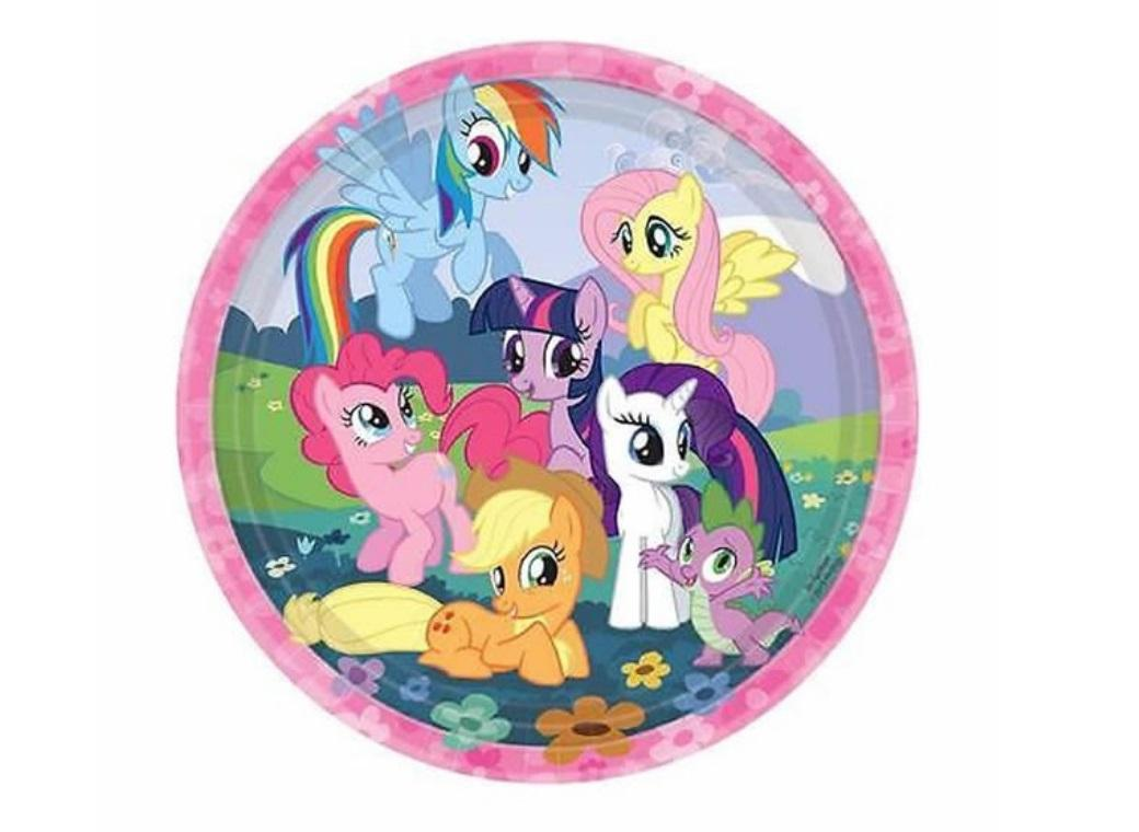 My Little Pony Dinner Plates