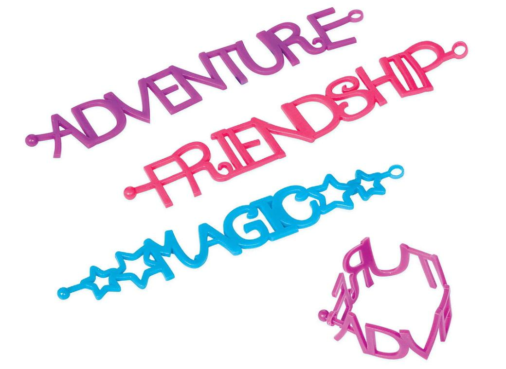 My Little Pony Friendship Adventures Bracelets 6pk