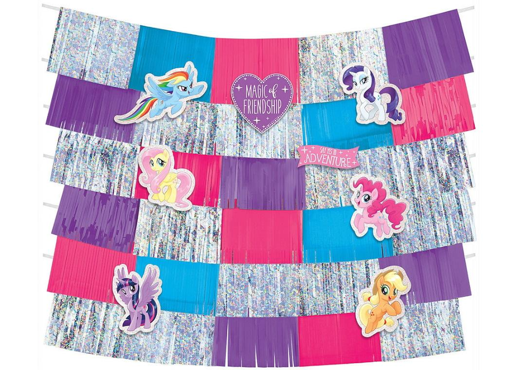 My Little Pony Fringe Banner Decorating Kit