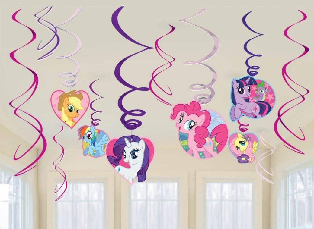 My Little Pony Hanging Swirls Decorations